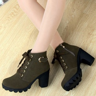 Chaussures Talon bottier Bottines Lacet