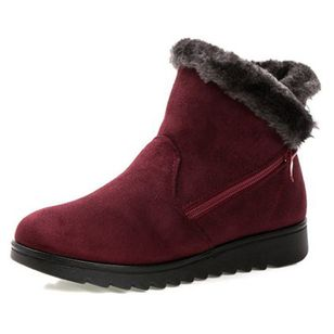 Women Winter Boots Women's Boots Mother Shoes Waterproof Ankle Boots Women Rain Warm Fur Footwear