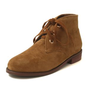 Chaussures Talon bas Bottines Lacet