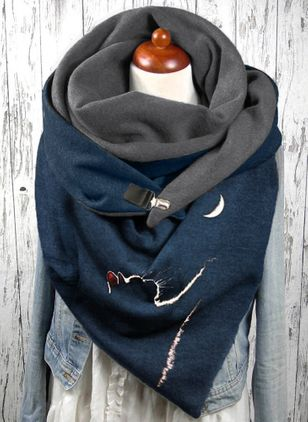 Casual Animal Scarves (146744493)