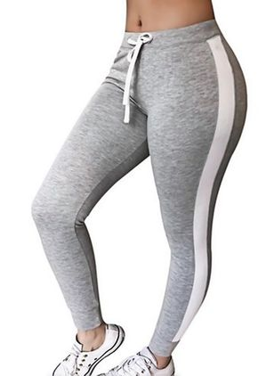 2018 Nieuwe Sexy Damesmode Slim Fit Gestreepte Broek Yoga Running Broek Workout Leggings Fitness Gym T