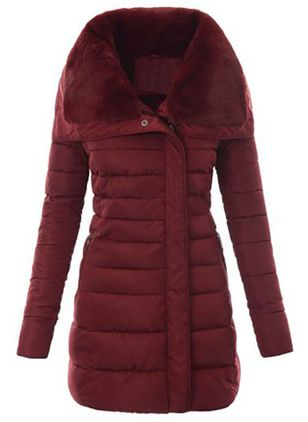 Umeko Winter Women's Fashion Down Coat New Cotton-Padded Clothes Thickening Down Winter Jacket