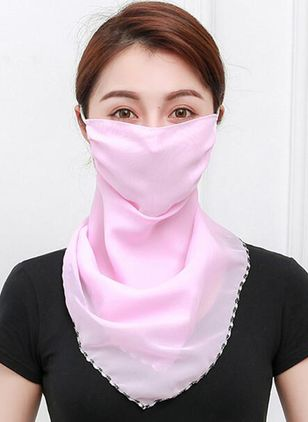 Casual Solid Scarves (1532328)