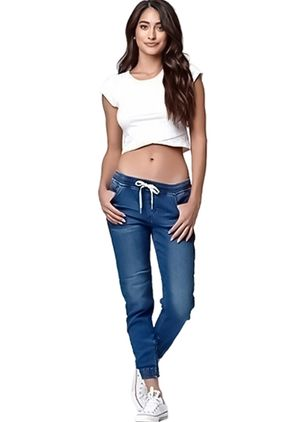 Dames Mode Blauw Sexy Skinny Potlood Jeans Dames Toevallige Denim Broek