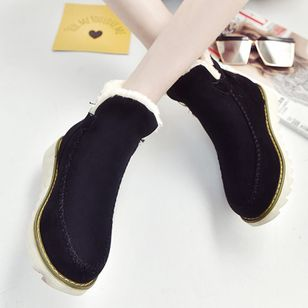 Ankle Boots Flat Heel Shoes