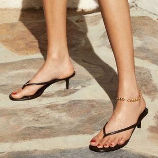 Flip-Flops Low Heel Shoes