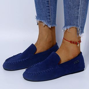 Women's Low Top Cloth Flat Heel Flats (107805007)