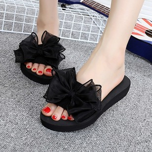 Women's Flats Slippers Flat Heel Plastics Shoes