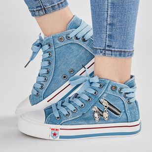 Women's Lace-up Flats Flat Heel Sneakers (104147783)