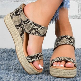 Women's Slingbacks Wedge Heel Sandals (4045092)