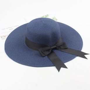 Casual Bow Solid Hats (1510490)