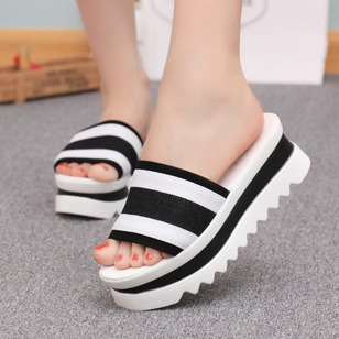 Women's Wedges Wedges Wedge Heel Cloth Shoes