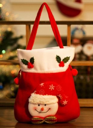 Tote Christmas Double Handle Bags (128228517)