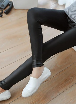 Skinny Polyamide Leggings Pants & Leggings
