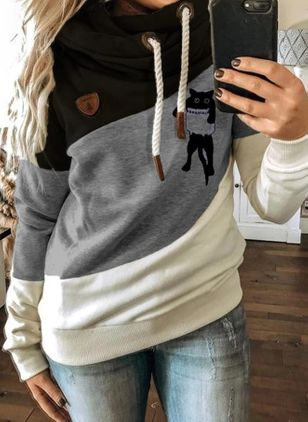 Animal Cute Hooded Sweatshirts (112602199)