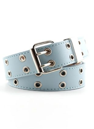 Casual Metal Geometric Belts (102930815)