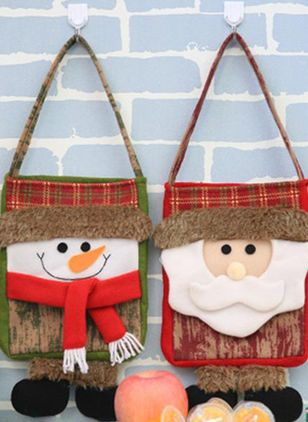 Tote Christmas Double Handle Bags (128228515)