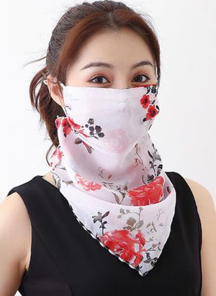 Casual Floral Scarves (1532336)