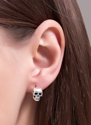 Halloween No Stone Stud Earrings (109554035)
