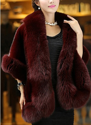 Shearling & Faux Shearling Half Sleeve Other Coats