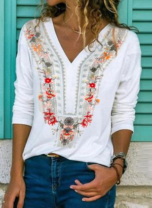 Floral Spring Blouses (100037702)