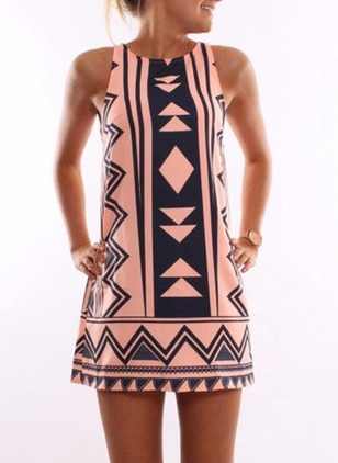 Tank Sleeveless A-line Dress