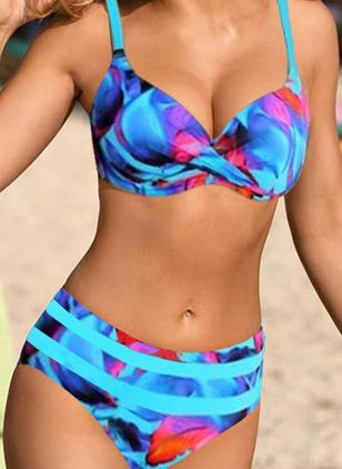 Summer Pattern Bikinis Swimwear (4073811)
