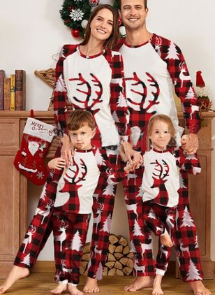 Family Look Animal Christmas Long Sleeve Family Outfits (146771455)