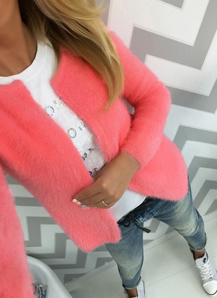 Long Sleeve Round Neck Sweaters