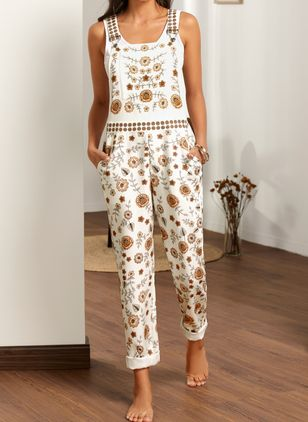 Women's Straight Pants Jumpsuits (4864656)