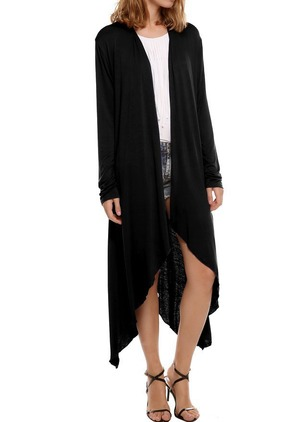 Cotton & Cotton Blend Long Sleeve Other Coats