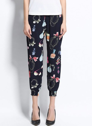 Harem Polyester Pants Pants & Leggings