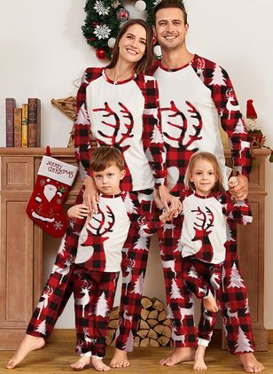 Family Look Animal Christmas Long Sleeve Family Outfits (146741957)