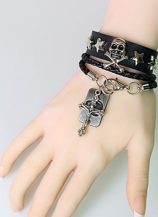 Halloween Cross No Stone Cuff Bracelets (108858964)