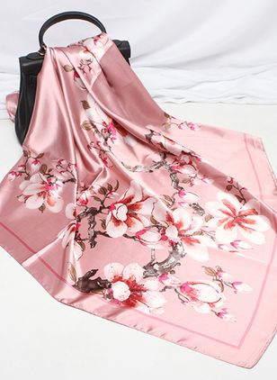 Casual Floral Scarves (106153900)