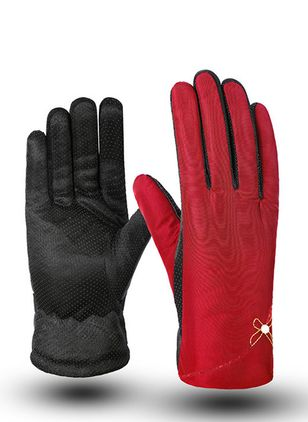 Women's Casual Polyester Cotton Gloves & Mittens Fit Comfort Soft Thick Gloves (146643068)