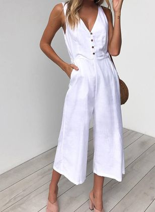 Sleeveless Jumpsuits & Rompers (147151658)