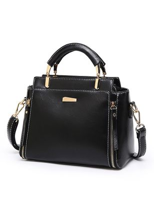 Shoulder Fashion Zipper Convertible Bags (101987812)