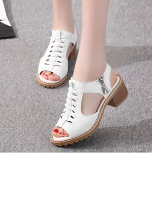 Women's Pumps Sandals Sandals Pumps Low Heel Leatherette Shoes