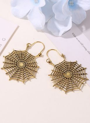 Halloween Geometric No Stone Dangle Earrings (109554038)