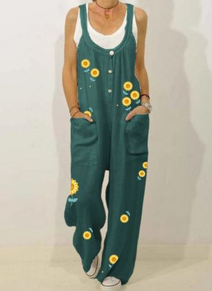 Women's Loose Jumpsuits (4045549)