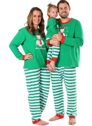 Family Look Animal Christmas Long Sleeve Family Outfits (131284856)