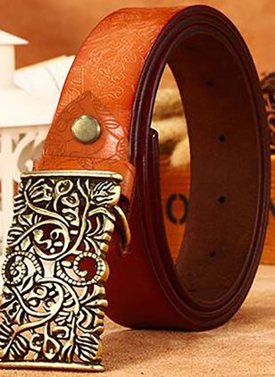 Metal Color Block Belts (1496931)