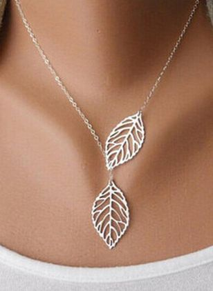 Casual No Stone Pendant Necklaces (104147748)