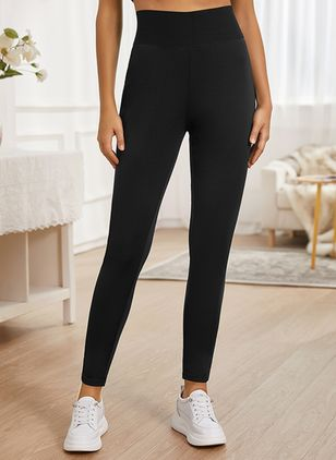 Sexy Skinny High Waist Polyester Leggings (146794884)