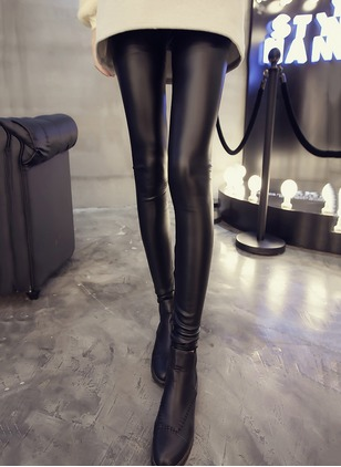 Skinny Leather Trousers Pants & Leggings