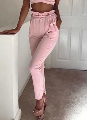 Skinny Chiffon Pants Pants & Leggings
