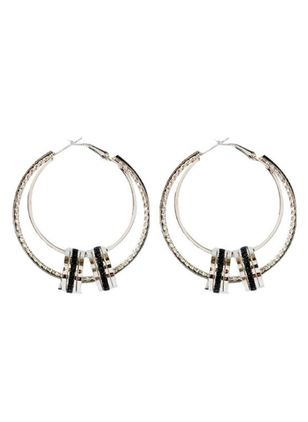 Casual Round No Stone Dangle Earrings (147151104)