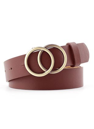 Casual None Solid Belts (147949184)