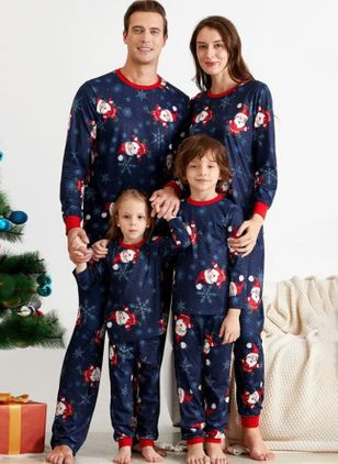 Family Look Character Christmas Long Sleeve Family Outfits (122030183)